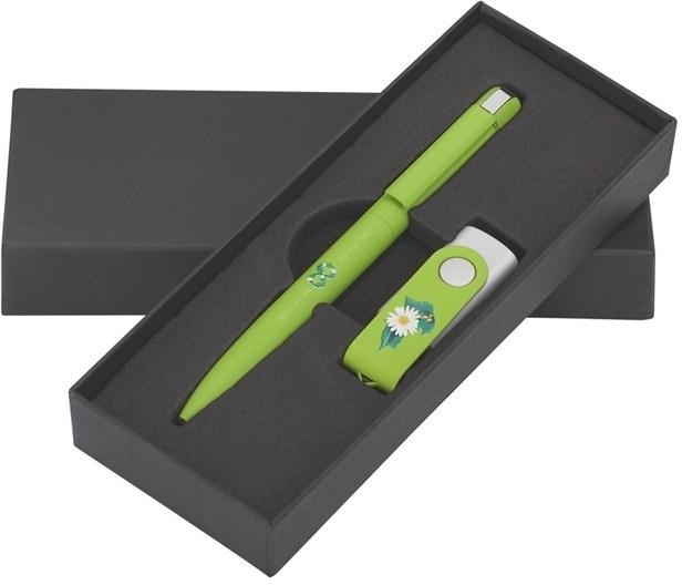 Набор флешка и ручка