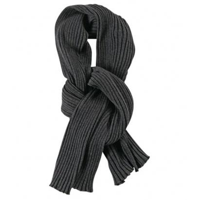 Серый шарф Mono