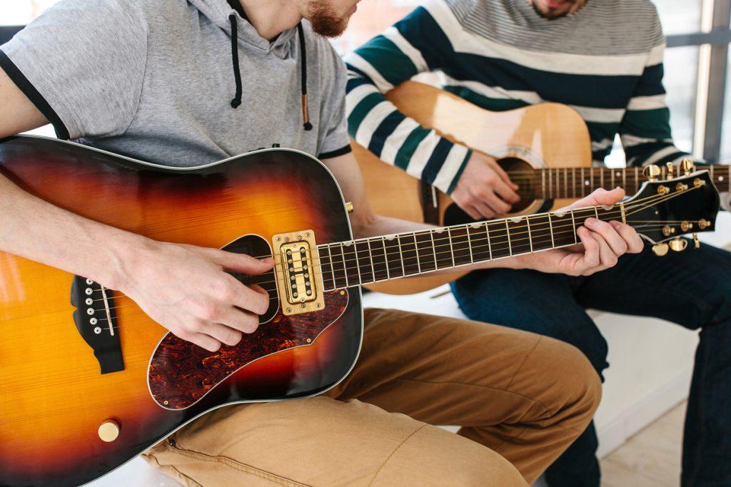 Сертификат на 5 занятий по курсу «Гитара»