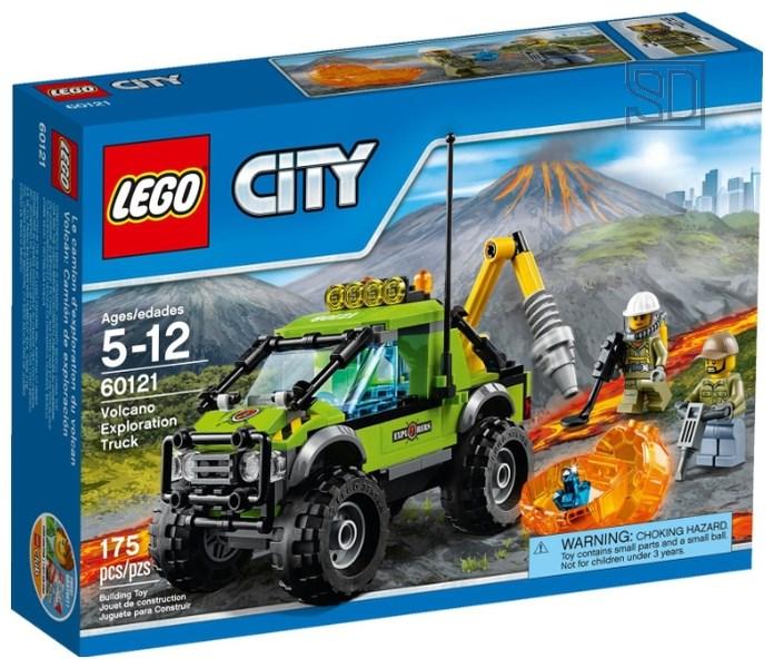 Конструктор LEGO City «Внедорожник исследователей вулканов»
