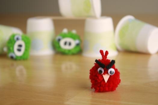 Angry Birds своими руками