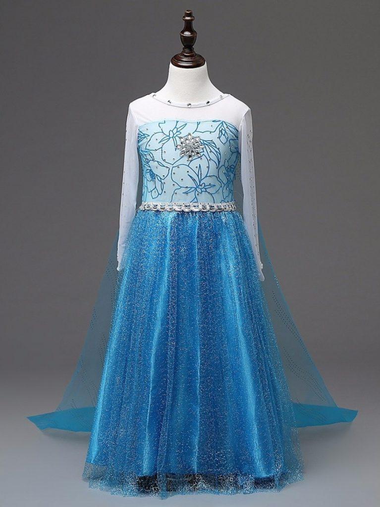Платье Эльзы из Холодного сердца с аксессуарами
