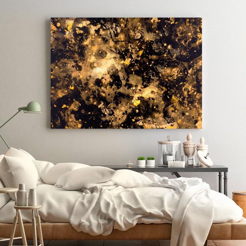 Набор для создания картины телами Love as Art (Black Gold)